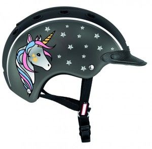 Kask Casco Nori Unicorn-black/grey